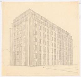 Hans Poelzig (1869-1936) Bankgebäude, Dresden (1918-1921)