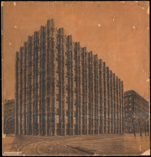 Hans Poelzig (1869-1936) Bankgebäude, Dresden (1918-1921)a