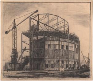 Hans Poelzig (1869-1936) Deutsche Bauausstellung 1931, Berlin. Pavillon für den Deutschen Stahlbauverband (1931)
