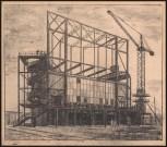 Hans Poelzig (1869-1936) Deutsche Bauausstellung 1931, Berlin. Pavillon für den Deutschen Stahlbauverband (1931)c