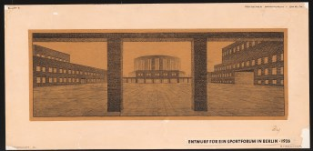 Hans Poelzig (1869-1936) Deutsches Sportforum, Berlin (1926)