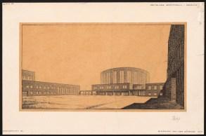 Hans Poelzig (1869-1936) Deutsches Sportforum, Berlin (1926)a