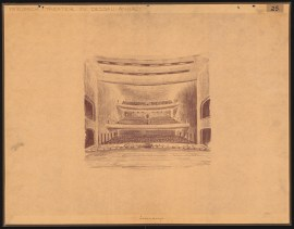 Hans Poelzig (1869-1936) Friedrich-Theater, Dessau (1935)a