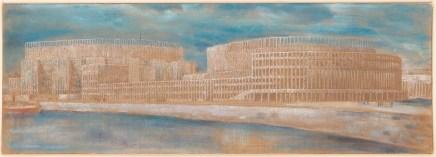 Hans Poelzig (1869-1936) Palast der Sowjets, Moskau (1931)
