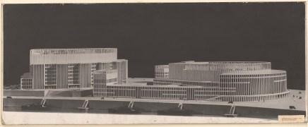 Hans Poelzig (1869-1936) Palast der Sowjets, Moskau (1931)b