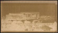 Hans Poelzig (1869-1936) Palast der Sowjets, Moskau (1931)e