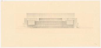 Hans Poelzig (1869-1936) Palast der Sowjets, Moskau (1931)t