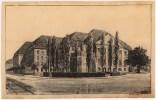 Hans Poelzig _ Georg Kolbe Gefallenendenkmal für Siemensstadt, Berlin Perspektivische Ansicht (1922)