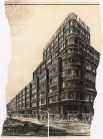 Hans Poelzig _ Max Krajewsky Geschäftshaus S. Adam, Leipziger Straße_ Friedrichstraße, Berlin (1928)a