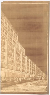 Hans Poelzig _ Max Krajewsky Geschäftshaus S. Adam, Leipziger Straße_ Friedrichstraße, Berlin (1928)c