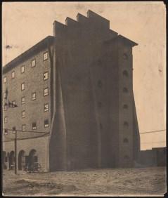 Hans Poelzig Chemische Fabrik, Luban Schwefelsäure-Fabrik, Giebelansicht (identisch mit Inv.Nr. 2641)b
