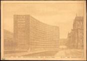 Hans Poelzig Erweiterung des Reichstags und Neugestaltung des Platzes der Republik, Berlin-Tiergarten (1929)d