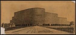 Hans Poelzig Messehaus, Hamburg (1925)i