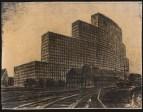Hans Poelzig Messehaus, Hamburg (1925)n