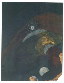 Ivan Leonidov, color sketch for the city of the sun (1940s-1950s)e
