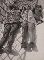 "László Moholy-Nagy. (American, born Hungary. 1895-1946). Siesta. 1926. Gelatin silver print, 9 3:16 x 6 3:4"" (23.3 x 17.2 cm). Anonymous gift. © 2008 Artists Rights Society (ARS), New York : VG Bild-Kunst, B"