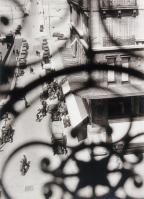 László Moholy-Nagy, American, born Hungary, 1895-1946 Title Rue Cannebière, Marseilles Date 1929 Material Gelatin silver print Measurements Sheet- 253 x 202 mm