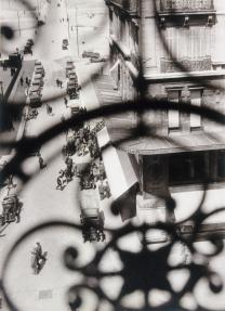 László Moholy-Nagy, American, born Hungary, 1895-1946 Title Rue Cannebière, Marseilles Date 1929 Material Gelatin silver print Measurements Sheet- 253 x 202 mm