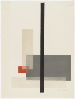 László Moholy-Nagy Composition from Masters' Portfolio of the Staatliches Bauhaus (Meistermappe des Staatlichen Bauhauses) (1923) e