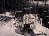 Laszlo Moholy-Nagy, Sous les filets de pêche à Isola-Bella, 1930 Reproduction of a work