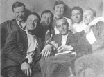 Leonidov with friends