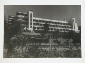 Meyer, Hannes Exterior view of Voroshilov Sanatorium, Sochi, Soviet Union (now in Russia) 1933 or later