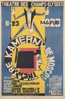 Stenberg Brothers (Vladimir, 1899-1982; Georgi, 1900-1933) & K. Meduenzky THEATRE KAMERNY DE MOSCOU
