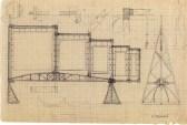 A. Damsky. Construction. Rhythm Assignment. 1920s