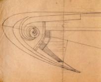 A. Mukhin. Supervisor L. Vesnin Port Lighthouse. Sketches. 1922 a