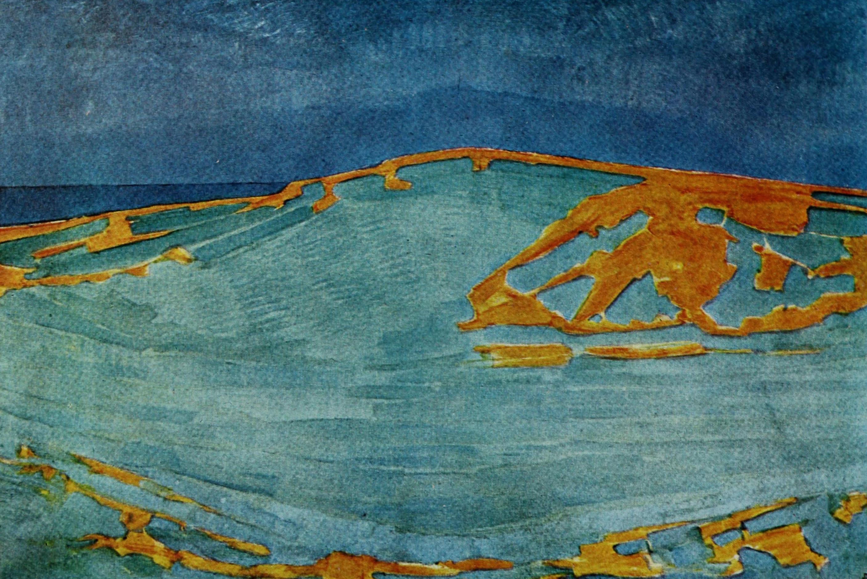 Dune probably 1910, oil on canvas, 51 × 73in (130 × 186 cm) Slijper collection, Blaricum