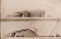 G. Vegman. Steam Locomotive Depot. 1922