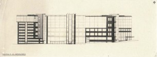 G. Vegman. Telegraph Office in Moscow. Competition project. 1925. Photos 1