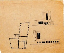 K. Knyazev. Supervisor N. Kolli. District Library and Lyceum in the Capital of the USSR. 1924
