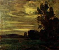 Landscape undated, oil on canvas Slijper collection, Blaricum