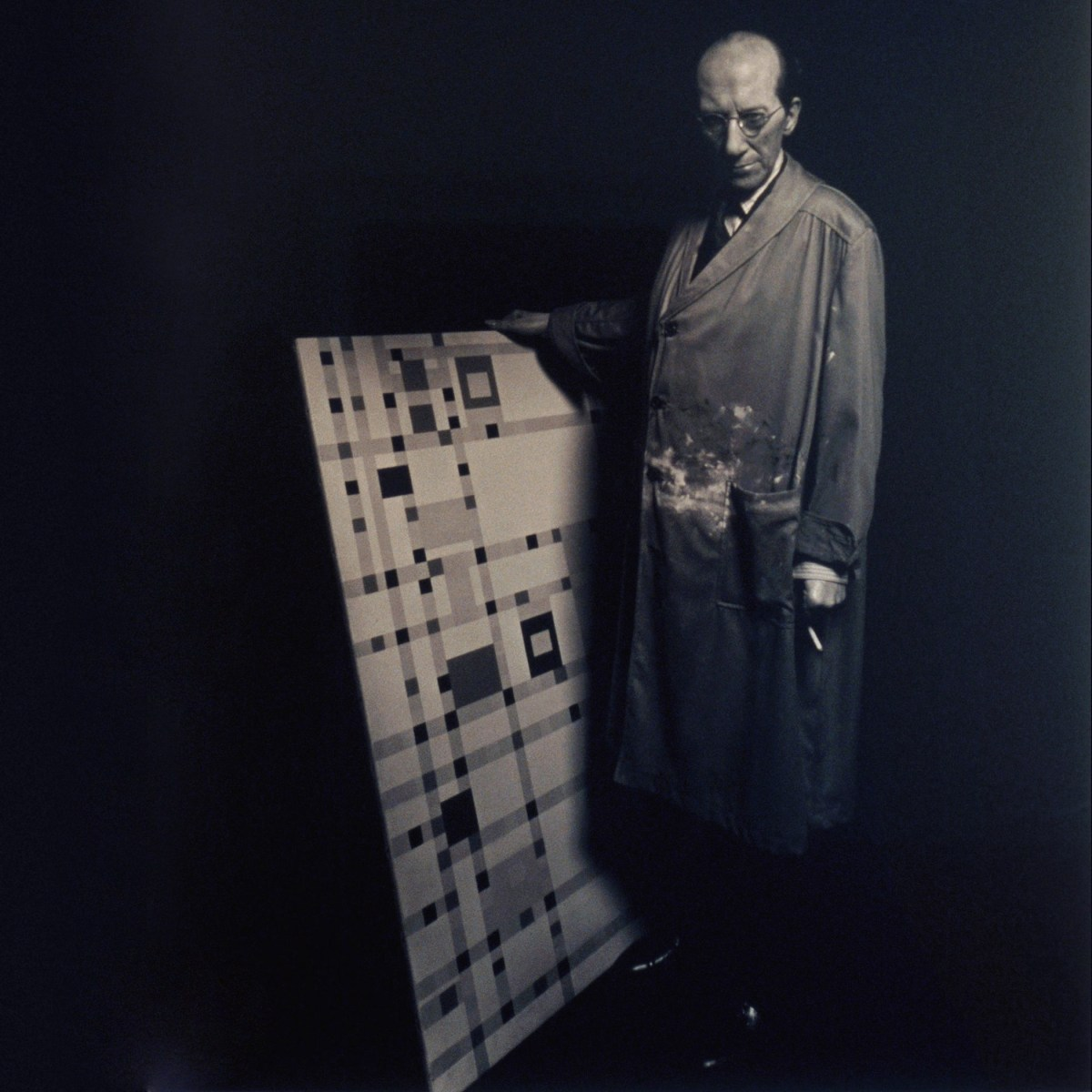 Mondrian: Order and randomness in abstract painting