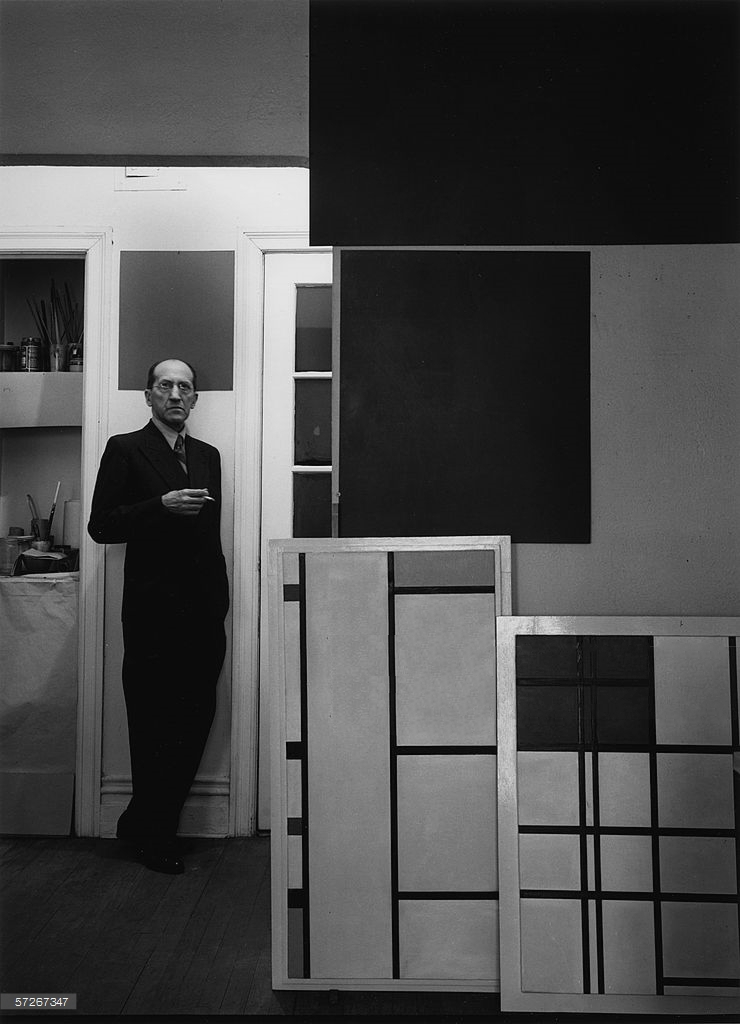 portrait-of-dutch-modernist-painter-piet-mondrian-as-he-news-photo