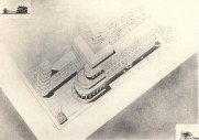 R. Khiger. Academy of Communal Economy. Competition project. 1930s. Photos 1