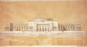 S. Ostrovskaya. Institute of Choreography. Last course project. 1935 a