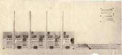 T. Rappoport. Supervisors A. Samoylov and V. Kapterev. Powdered Coal Power Plant. 4th year. 1932:1933. Photo