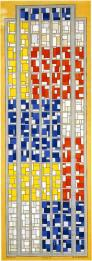 theo-van-doesburg-design-for-stained-glass-composition-xiii-1924