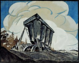 V. Vladimirov. N. Ladovsky's workshop Grain Elevator. Revelation and expression of form. 1922