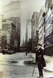 Vladimir Mayakovsky in New York in 1925