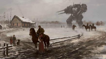 """""""1920 - Farewell"""" by Jakub Rozalski [1920 x 1080] ..."""