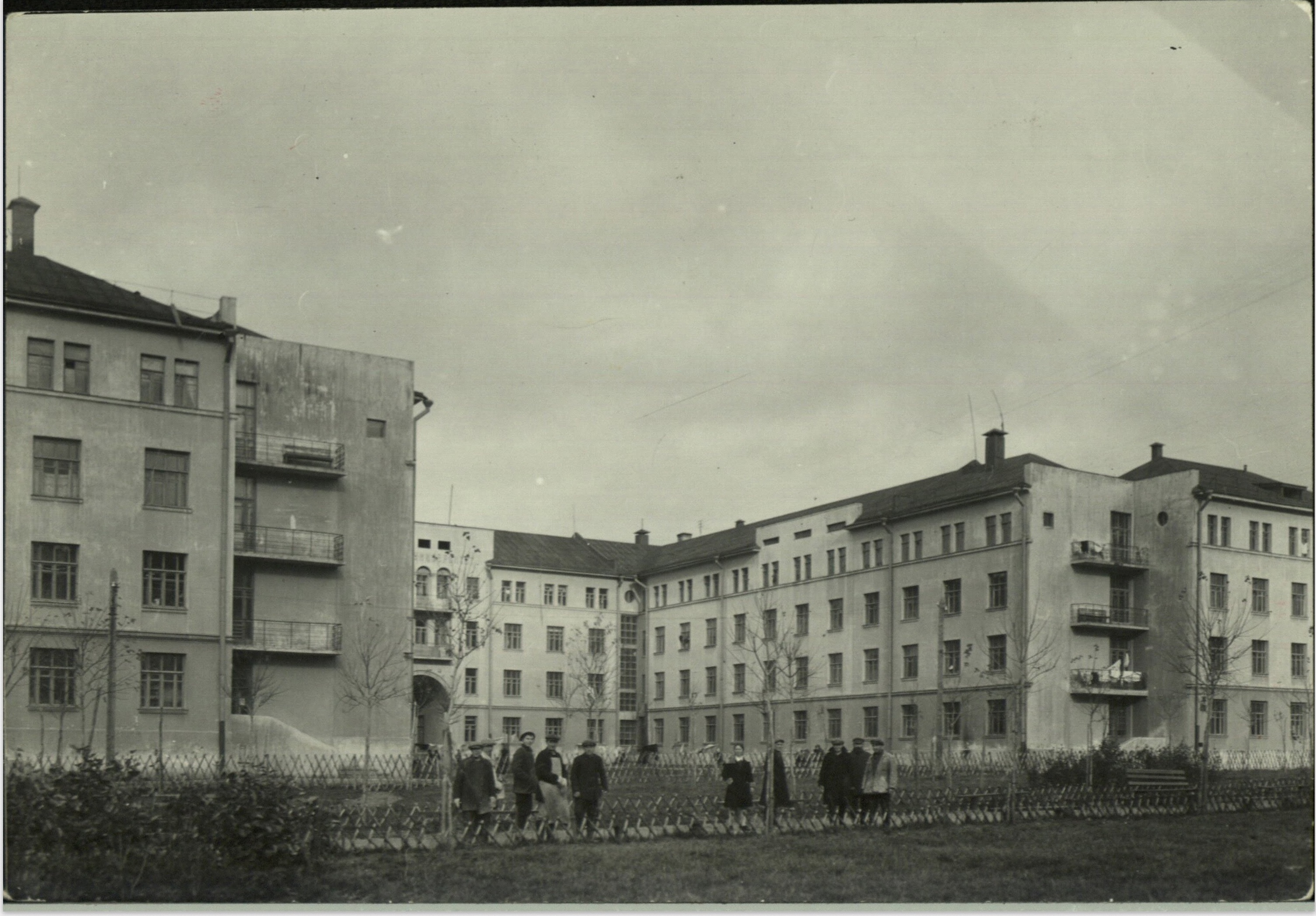 Margaret Bourke-White, New unident. apartment buildings (Moscow, 1931)