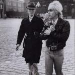 David Bowie and Iggy Pop in Moscow