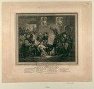 Réception du décret du 18 floréal - Malheur à celui qui cherche à éteindre ce sublime entousiasme le patriotisme élève; Gravé par Augustin Legrand