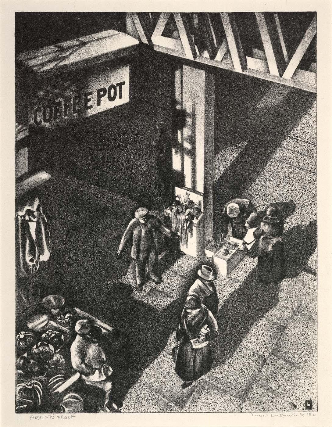 First Avenue Market (East Side Market) (Second Avenue Market) 1934