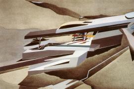 Hadid, Zaha Title Hong Kong Peak Date 1982-1983 Location Hong Kong, Hong Kong, China 4
