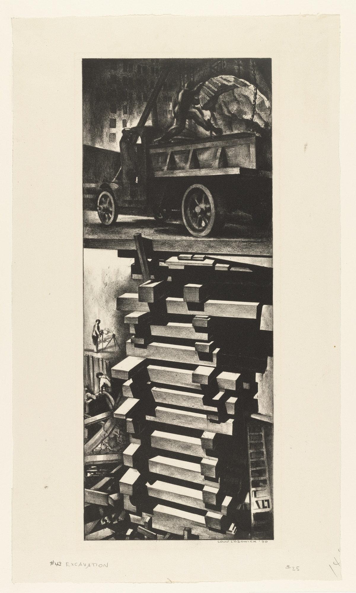 Louis Lozowick Construction 1930
