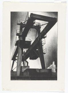 Louis Lozowick Crane 1928